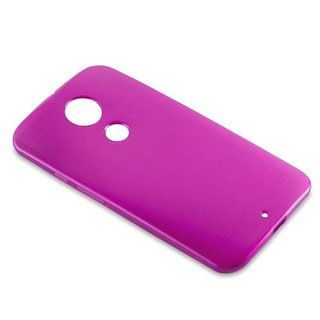 buy online 2de9a 7aff4 Cadorabo Case works with Motorola MOTO X2 in PINK ? Shockproof and Scratch  Resistant TPU Silicone Cover ? Ultra Slim Protective Gel Shell Bumper Back  ...