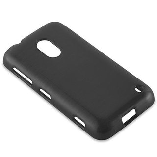 Cadorabo Case works with Nokia Lumia 620 in BLACK -...