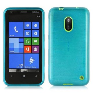 Cadorabo Case works with Nokia Lumia 620 in TURQUOISE -...
