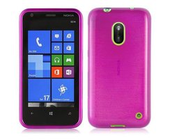 Cadorabo Case works with Nokia Lumia 620 in PINK...
