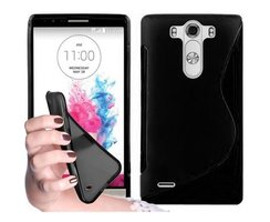 Cadorabo Case works with LG G3 in OXIDE BLACK -...