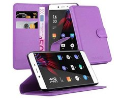 Cadorabo Book Case works with OnePlus X in PASTEL PURPLE...