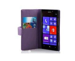 Cadorabo Book Case works with Nokia Lumia 925 in PASTEL...