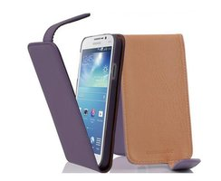 Cadorabo Case works with Samsung Galaxy MEGA 5.8 in LILAC...