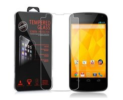 Cadorabo Tempered Glass works with LG Google Nexus 4 in...