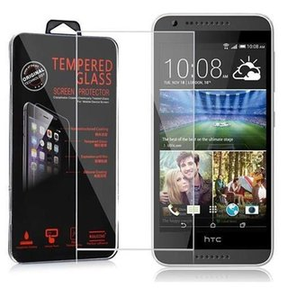 Cadorabo Tempered Glass works with HTC Desire 620 in HIGH TRANSPARENCY - Screen Protection 3D Touch Compatible with 9H Hardness - Bulletproof Display Saver