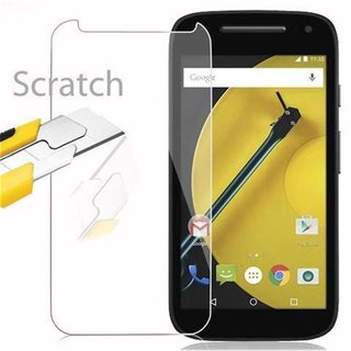 Cadorabo Tempered Glass works with Motorola MOTO E2...