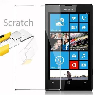 Cadorabo Tempered Glass works with Nokia Lumia 520 / 521...