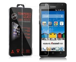 Cadorabo Tempered Glass works with Huawei Ascend Y530 in...