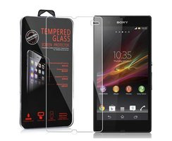 Cadorabo Tempered Glass works with Sony Xperia Z (1.Gen....