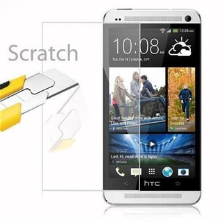 Cadorabo Tempered Glass works with HTC ONE M7 (1.Gen.) in...