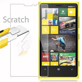 Cadorabo Tempered Glass works with Nokia Lumia 920 in HIGH TRANSPARENCY Screen Protection 3D Touch Compatible with 9H Hardness Bulletproof Display Saver