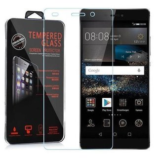 Cadorabo Tempered Glass works with Huawei P8 in HIGH TRANSPARENCY Screen Protection 3D Touch Compatible with 9H Hardness Bulletproof Display Saver