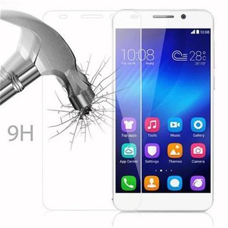 Cadorabo Tempered Glass works with Honor 6 in HIGH TRANSPARENCY - Screen Protection 3D Touch Compatible with 9H Hardness - Bulletproof Display Saver