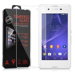 Cadorabo Tempered Glass works with Sony Xperia E3 in HIGH...