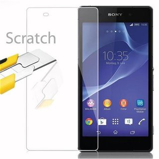 Cadorabo Tempered Glass works with Sony Xperia Z2 in HIGH...