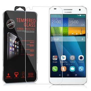 Cadorabo Tempered Glass works with Huawei G7 in HIGH...