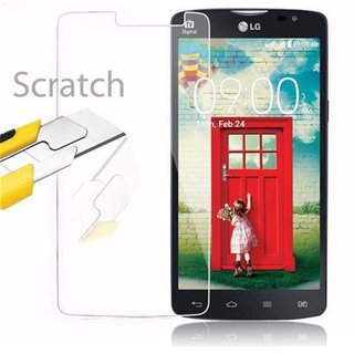 Cadorabo Tempered Glass works with LG L80 in HIGH TRANSPARENCY - Screen Protection 3D Touch Compatible with 9H Hardness - Bulletproof Display Saver