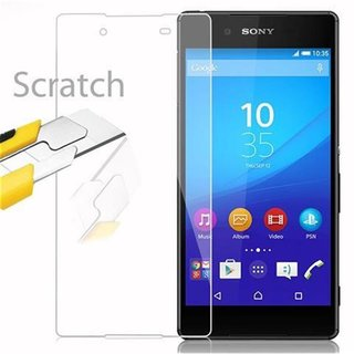 Cadorabo Tempered Glass works with Sony Xperia Z4 in HIGH...