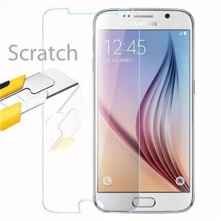 Cadorabo Tempered Glass works with Samsung Galaxy S6 in...