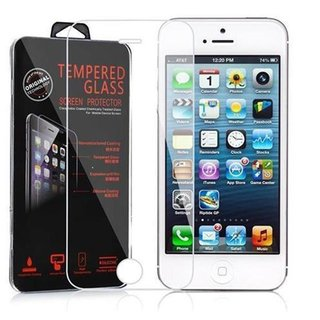 Cadorabo Tempered Glass works with Apple iPhone 5 / 5S /...