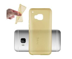 Cadorabo Coque pour HTC ONE M9  en OR TRANSPARENT Housse...