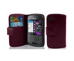 Cadorabo Book Case works with Blackberry Q10 in PASTEL...