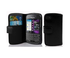 Cadorabo Book Case works with Blackberry Q10 in OXID...