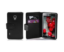Cadorabo Book Case works with LG OPTIMUS L7 II in OXID...