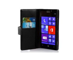 Cadorabo Book Case works with Nokia Lumia 925 in OXID...