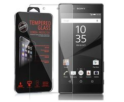 Cadorabo Tempered Glass works with Sony Xperia Z5 PLUS in...