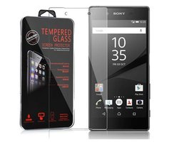 Cadorabo Tempered Glass works with Sony Xperia Z5 in HIGH...
