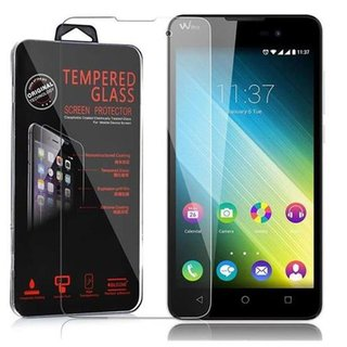 Cadorabo Tempered Glass works with WIKO LENNY 2 in HIGH...