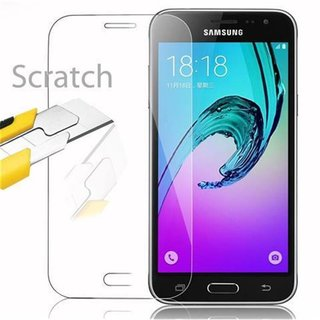 Cadorabo Tempered Glass works with Samsung Galaxy J3 in...