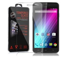 Cadorabo Tempered Glass works with WIKO LENNY in HIGH...