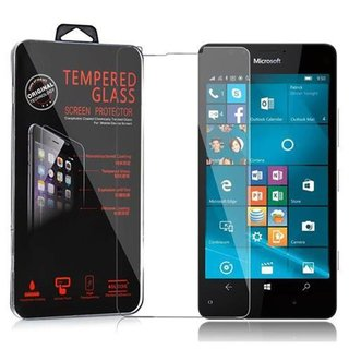 Cadorabo Tempered Glass works with Nokia Lumia 950 in...