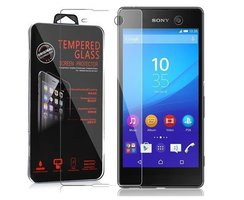 Cadorabo Tempered Glass works with Sony Xperia M5 in HIGH...
