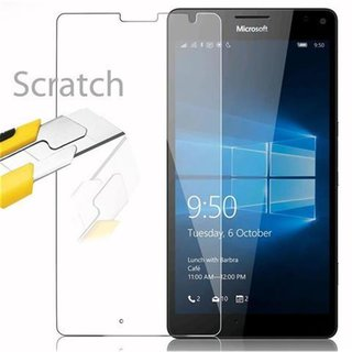 Cadorabo Tempered Glass works with Nokia Lumia 950 XL in...