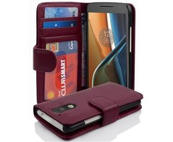 Cadorabo Book Case works with Motorola MOTO G4 / G4 PLUS...