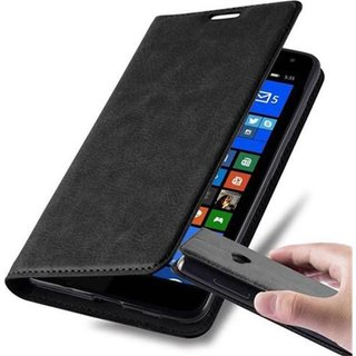 Cadorabo Book Case works with Nokia Lumia 535 in NIGHT...