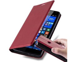 Cadorabo Book Case works with Nokia Lumia 535 in APPLE...