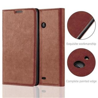 Cadorabo Book Case works with Nokia Lumia 540 in...