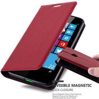 Cadorabo Book Case works with Nokia Lumia 630 in APPLE...