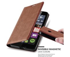Cadorabo Book Case works with Nokia Lumia 640 in...