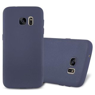 Cadorabo Case works with Samsung Galaxy S7 in FROST DARK...