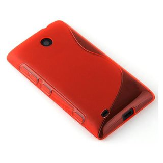 Cadorabo Case works with HTC Desire 300 in CANDY APPLE...