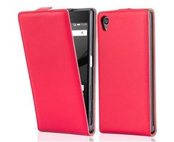 Cadorabo Case works with Sony Xperia Z5 in CHILI RED -...