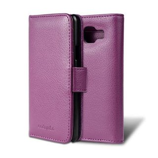 Cadorabo Book Case works with Samsung Galaxy A3 2016 in BORDEAUX PURPLE ? with Magnetic Closure and 3 Card Slots ? Wallet Etui Cover Pouch PU Leather Flip