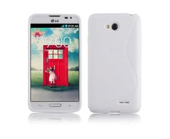 Cadorabo Case works with LG L70 in SNOW WHITE -...