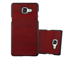 Cadorabo Case works with Samsung Galaxy A5 2016 in WOODY...